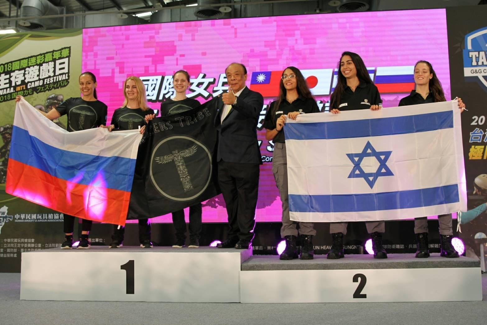 4國女兵射擊賽 她們擊敗以色列奪冠